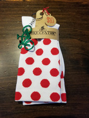 Polkadot Cycling Socks