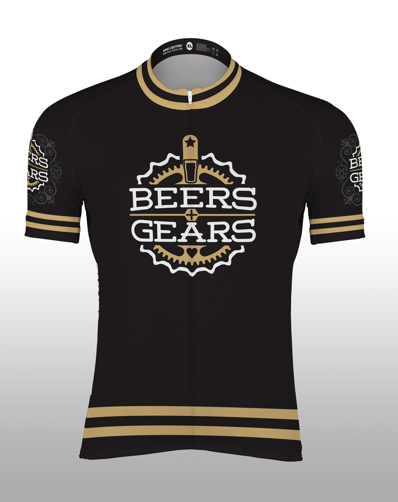 Beers and Gears Cycling Jersey