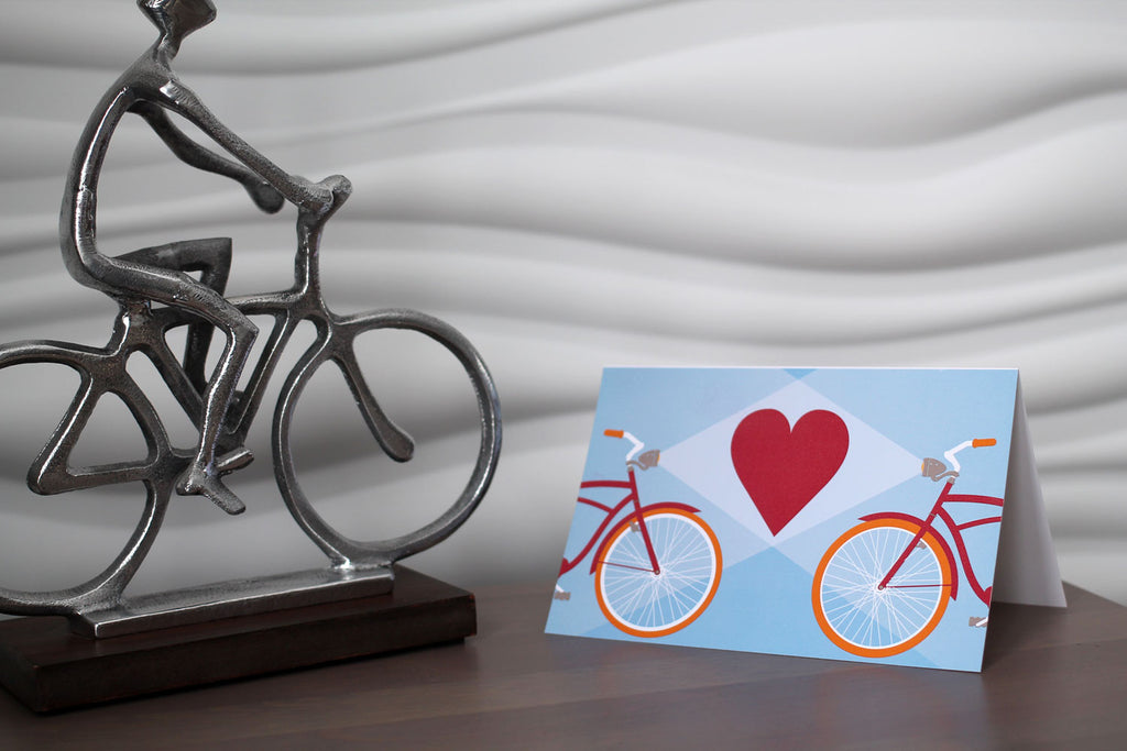 Heart Light Note Card
