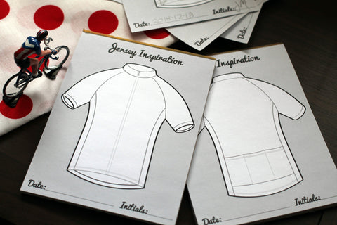 Jersey Inspiration Sketch Pad