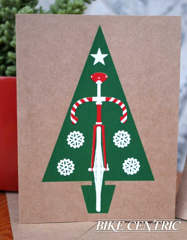 'Fixie Tree Holiday Card