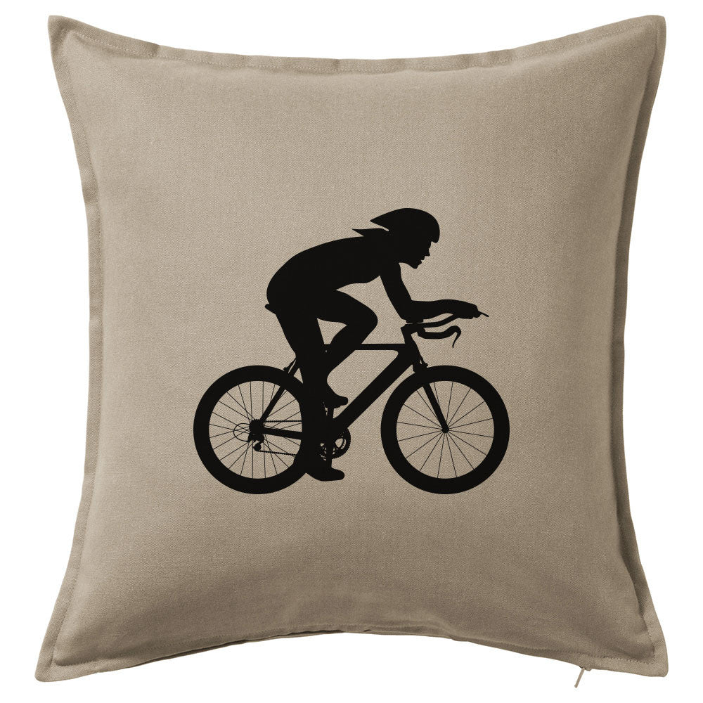 Tri Gal Throw Pillow