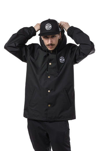Board Of Missoula Coaches Jacket with patch - Board Of Missoula - Shopping Missoula