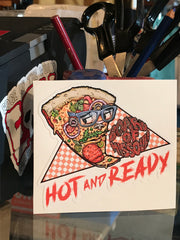 Hot and Ready Sticker Pack - Board Of Missoula - Shopping Missoula