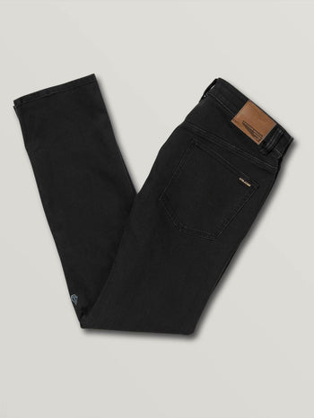 Volcom Solver Jeans - Blackout - Board Of Missoula - Shopping Missoula