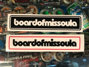 "Board of Missoula Bar Logo Sticker Pack 6"" - Board Of Missoula - Shopping Missoula"