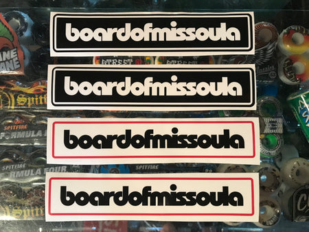 Board of Missoula Sticker Pack