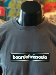 Board of Missoula Bar Logo T-Shirt - Board Of Missoula - Shopping Missoula