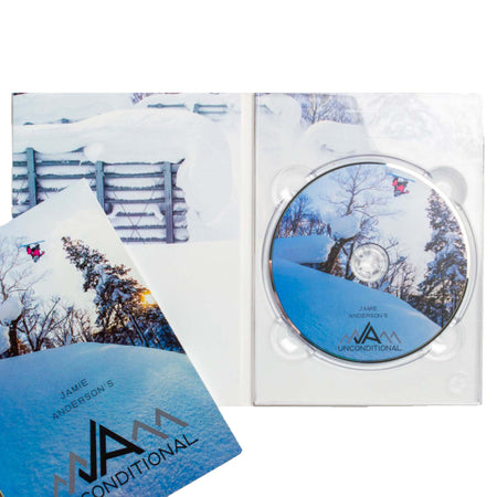 Snowboarder Magazine: Jamie Anderson's Unconditional DVD - Board Of Missoula - Shopping Missoula