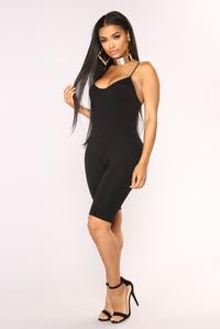 Seamless Cami Jumpsuit Shorts - Baby Doll Luxury Hair