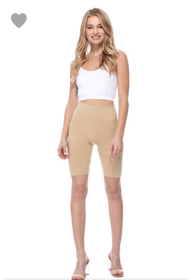 Seamless Biker Shorts - Baby Doll Luxury Hair