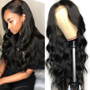 Diamond Lace Front Wigs Body Wave - Baby Doll Luxury Hair