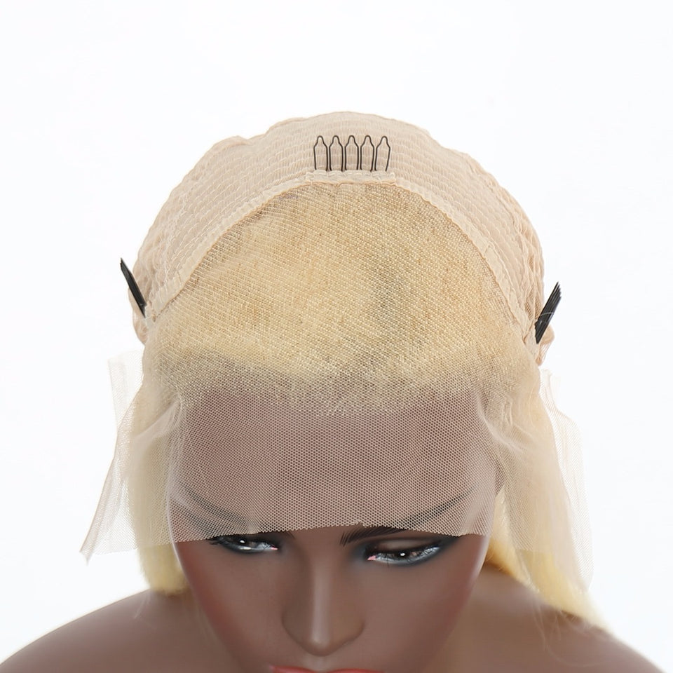 Platinum Blonde Wigs - Baby Doll Luxury Hair