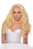 Platinum Blonde Brazilian Hair