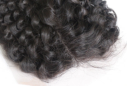 Diamond Lace Closure Curly - Baby Doll Luxury Hair
