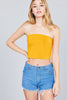 Soft Cotton Crop Tube Top - Baby Doll Luxury Hair