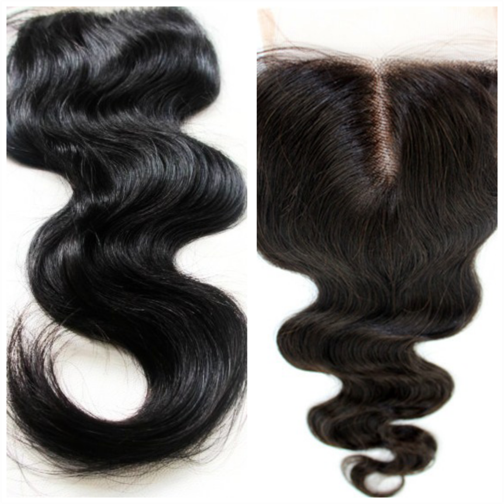 5x5 Transparent Lace Closure Body Wave - Baby Doll Luxury Hair