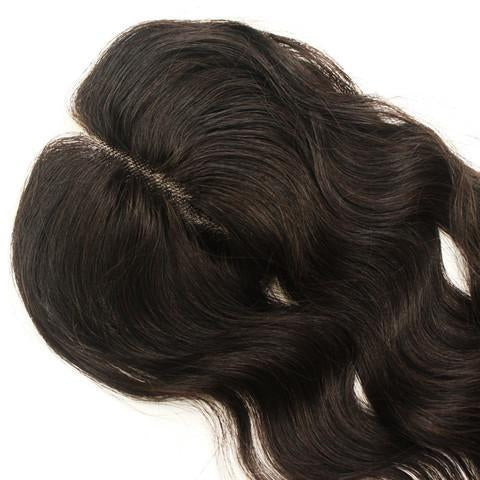 5x5 Transparent Lace Closure Wavy - Baby Doll Luxury Hair