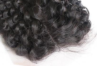 5x5 Transparent Lace Closure Curly - Baby Doll Luxury Hair