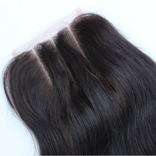 Three Part Lace Closure Straight - Baby Doll Luxury Hair