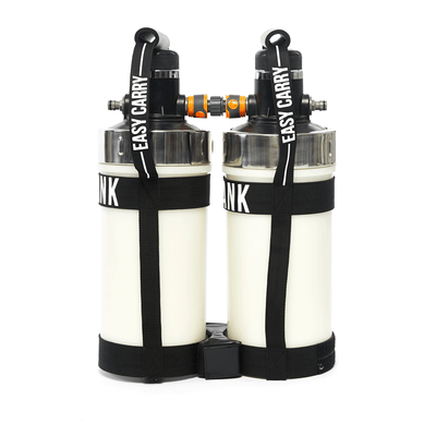 DUAL DI TANK PACK  (2 x 1/4 CU FT, or 6.5 Litres)