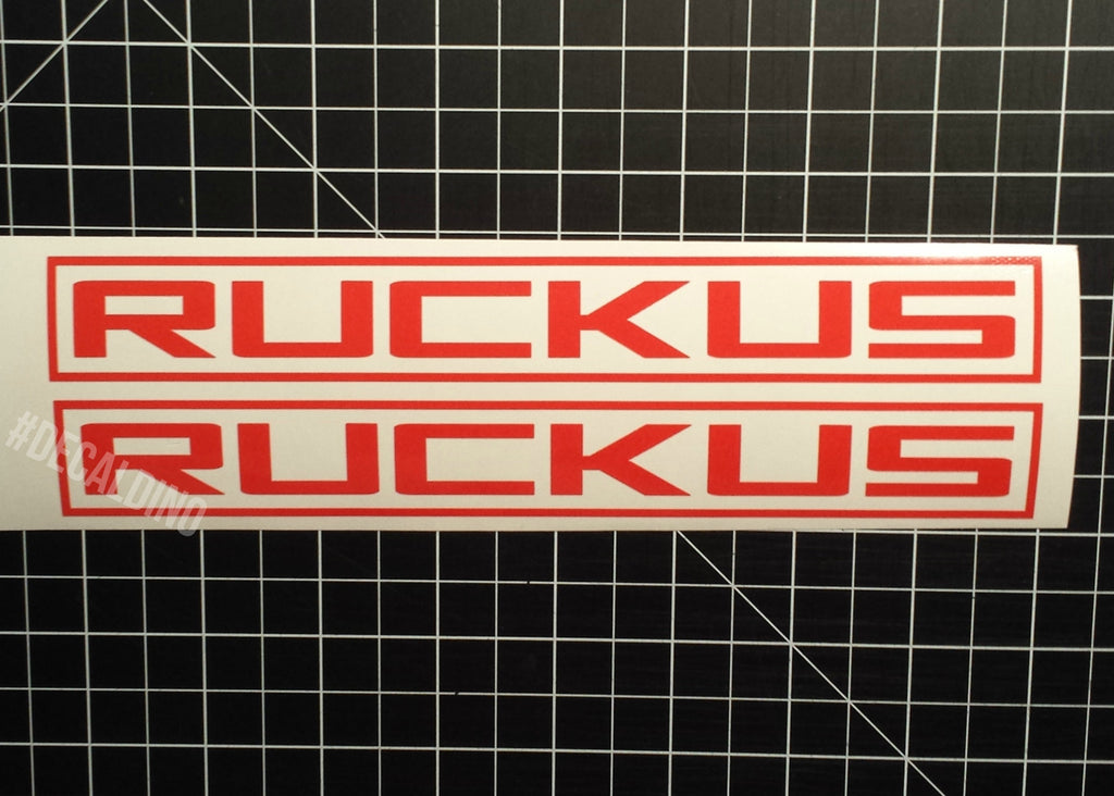 Honda Ruckus Factory Style Decals oem replacement chassis bar