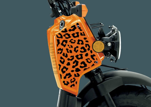 Ruckus Cheetah Print Decal Parts Stickers Ruckgirls