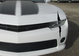 Headlight Scar - Decal Dino Scratch monster claw parts Camaro Stripe