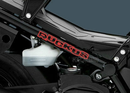 Ruckus Letters Decal kit honda parts chassis extension bar
