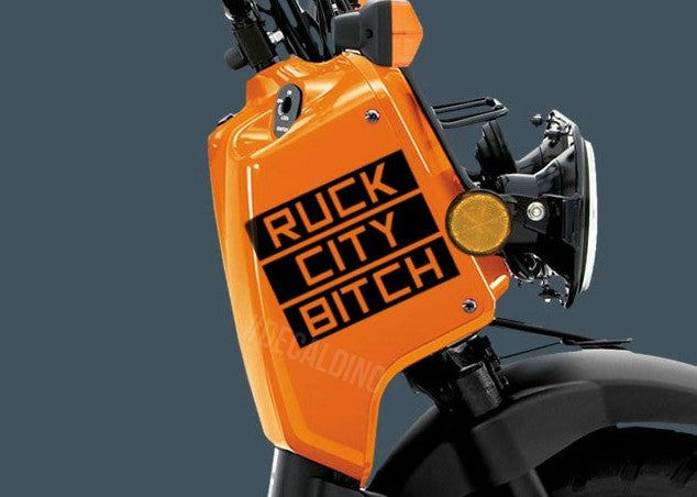 Ruck City Decal