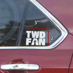 The Walking Dead FAN Decal