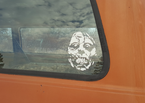 Window Walker Zombie Decal Sticker walking dead twd