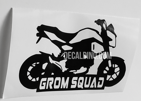 Grom Squad Decal