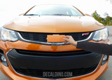 2020 Chevy Orange Burst Camaro Badge Sonic 2019 Bowtie wrap skin decal