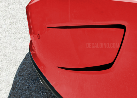 Dodge Charger Rear Bumper stripes