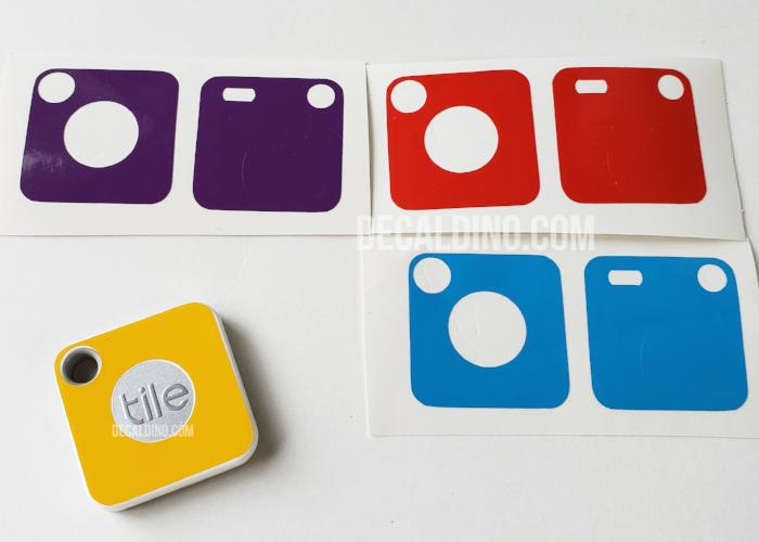 Protective Skin Decal for Tile Mate (Replaceable Battery Ver.) Tracker