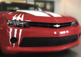 2018 Chevy Camaro Scar Slashes Cuts Decals Stripes Monster Rips Scratches