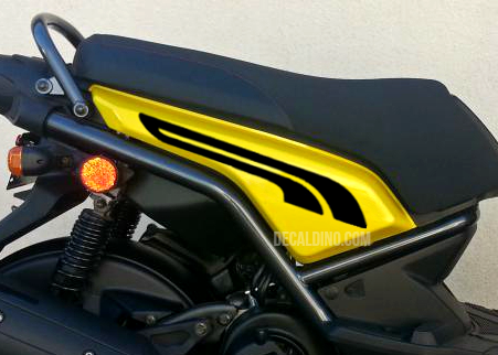 Yamaha Zuma BWS 125 Replacement Factory Body Decals Accessories