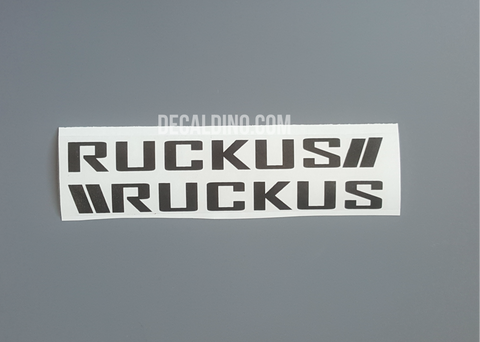 Honda Ruckus Factory Style Decals stickers oem replacement chassis bar g76