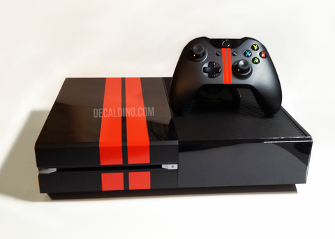 Xbox One Rally Stripe forza edition system microsoft skin wrap decal