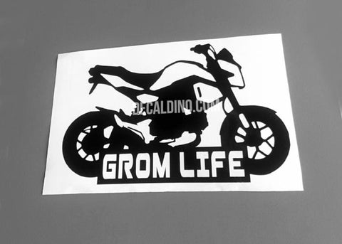 2017 18 19 Grom Life V2 Honda Decal Sticker