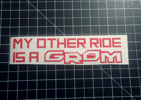 Honda Grom Stickers Decal Dino