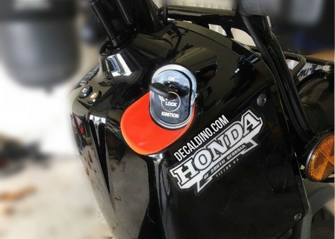 Honda Ruckus Key Scratch Guard