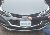 Satin Steel Chevy Cruze 2018 Color Badge Wrap