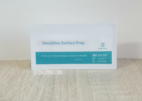 "decaldino ""Surface Prep"" Cleaning Wipe"