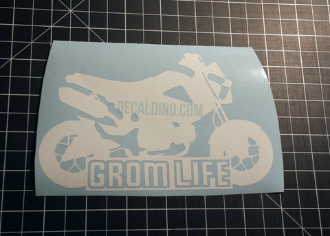 Honda Grom Stickers Decal Dino #gromlife grom life msx