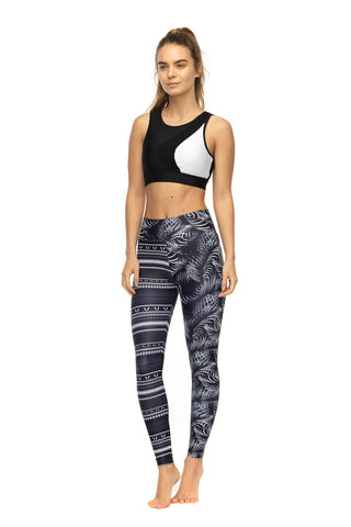 Billion Dollar Baby Legging in Black & White