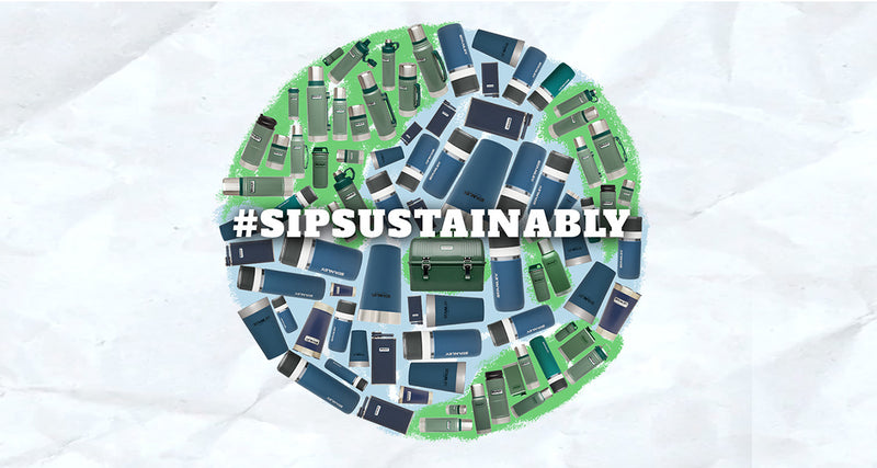 Go Green and #SipSustainably