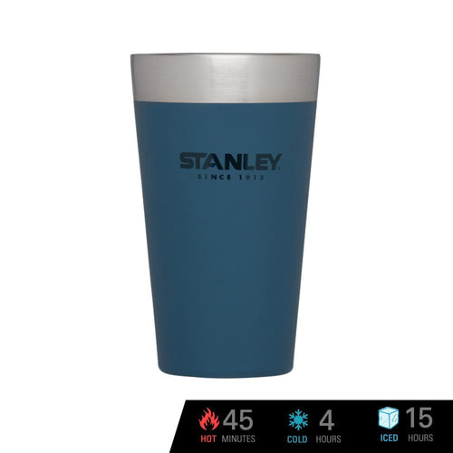 Stanley Adventure Vacuum Insulated Stacking Pint 16 oz / 473 ml - Abyss