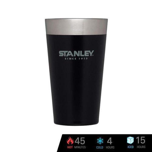 Stanley Adventure Vacuum Insulated Stacking Pint 16 oz / 473 ml - Matte Black